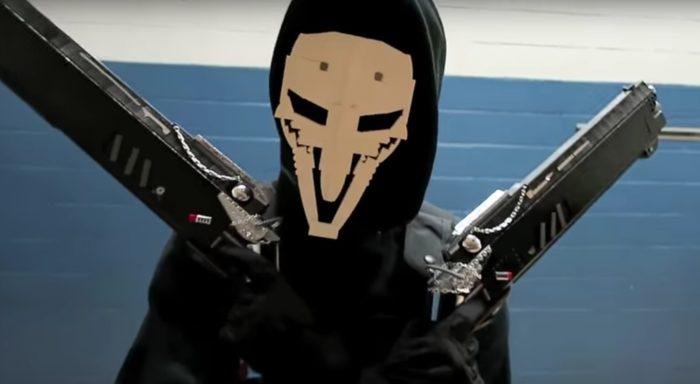 reaper, lego, overwatch, shotguns, builds