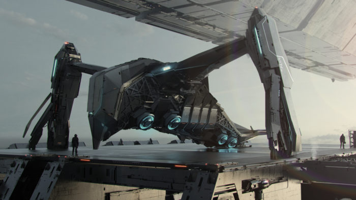 star citizen, esperia prowler