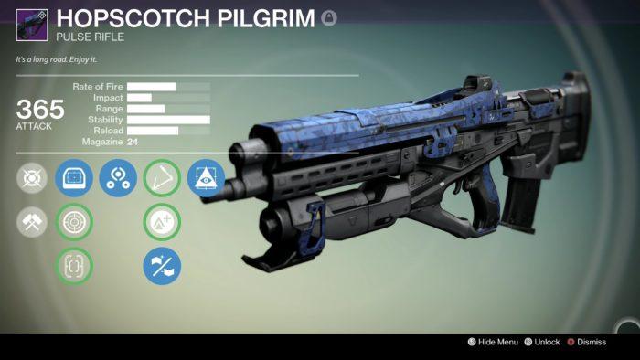 Hopscotch Pilgrim, destiny