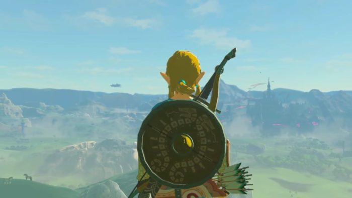 Legned of Zelda Link Standing Cool