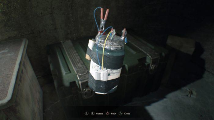 remote bomb RESIDENT EVIL 7 biohazard_20170121143115