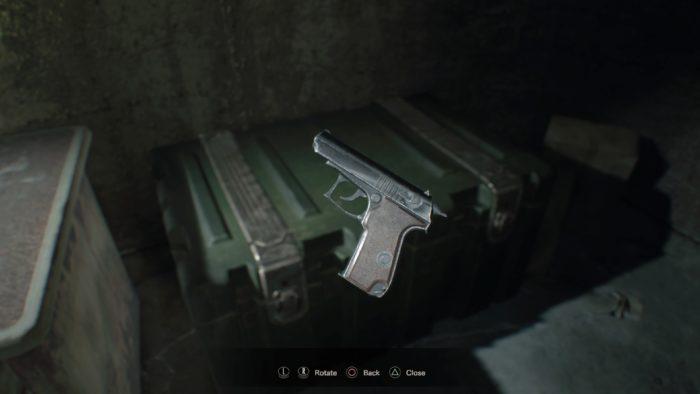 mpm handgun RESIDENT EVIL 7 biohazard_20170121143206