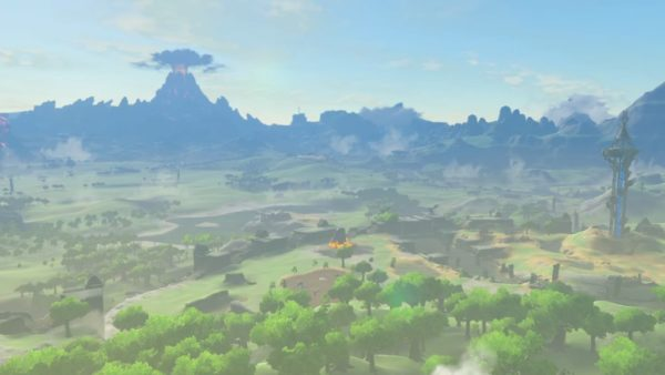 The Legend of Zelda Breath of the Wild Mt Doom