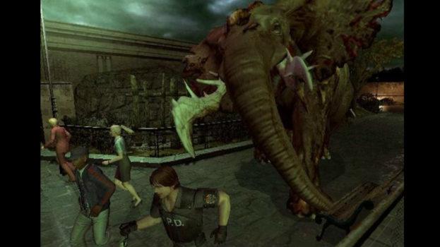 Zombie Elephant - Resident Evil Outbreak File 2
