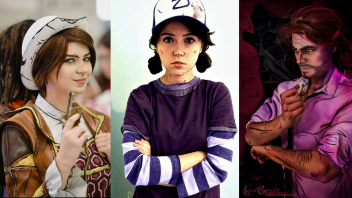 best, telltale, cosplays