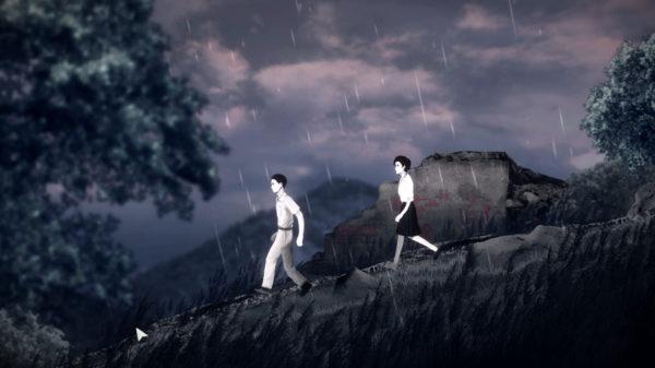 Detention Walking in the Rain