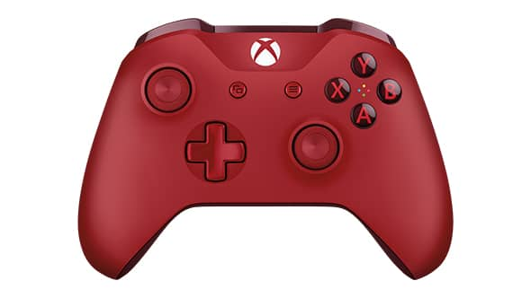 xbox one, controller, red