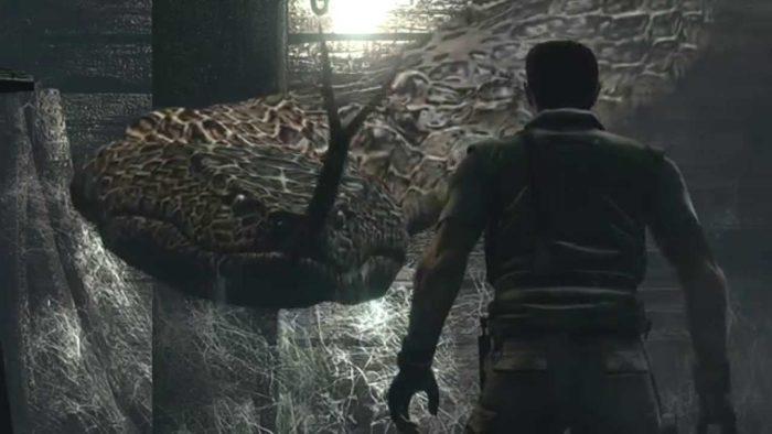 Yawn – Resident Evil