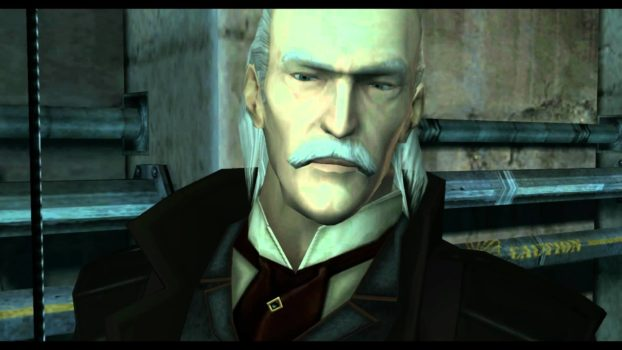 13. In order of main-line games (MGS1-5), what are Ocelot's allegiences?