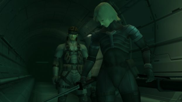 6. What name appears on Raiden's dog tag at the end of MGS2?