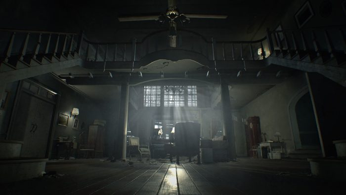 resident evil 7 main hall