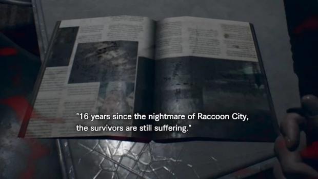 resident evil 7 raccoon