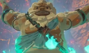 The Legend of Zelda Breath of the Wild Gorons