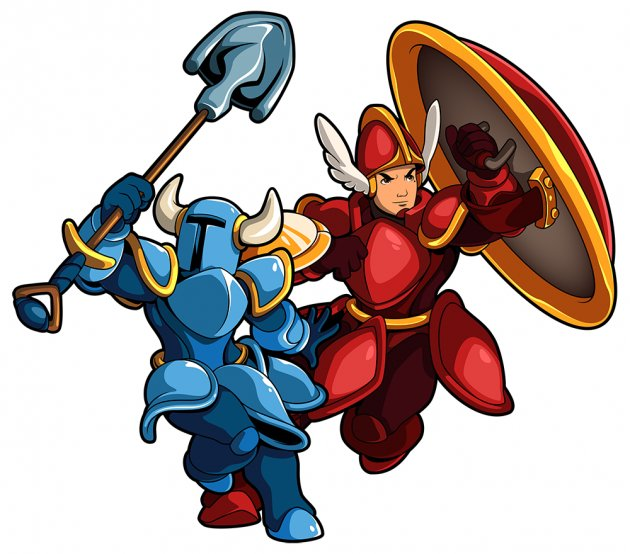Shovel Knight body swap