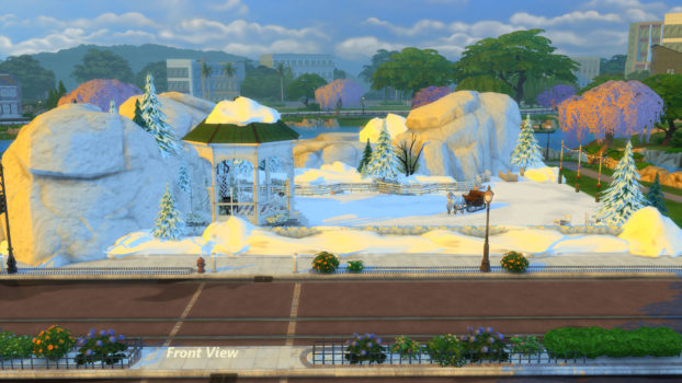 Winter's Dream Park and Ice Cave