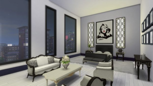 Old Hollywood Glamour Penthouse