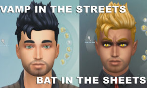 the sims 4 vampires pack