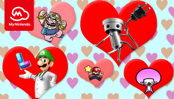 Valentine's Day, Nintendo