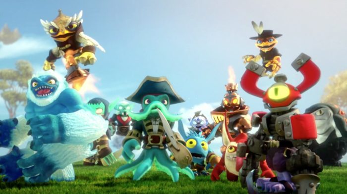 Skylanders, swap force, wii u