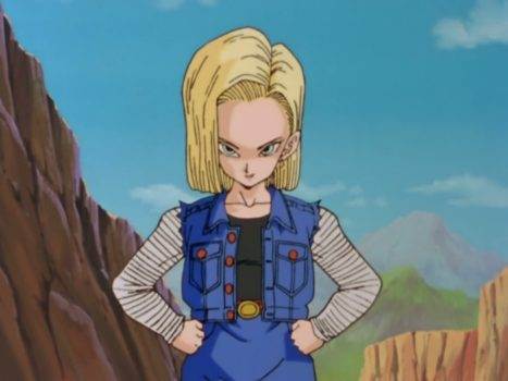 #10: Android 18
