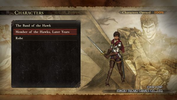 berserk and the band of the hawk all dlc