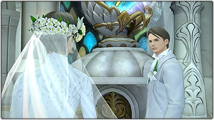 Final Fantasy XIV marriage