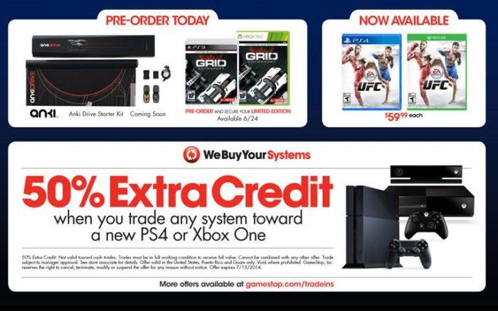 GameStop Trade in Deal