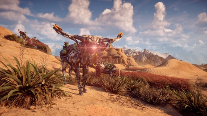Horizon Zero Dawn, machines, animal, robots, screenshots