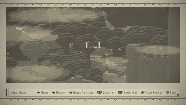 nier automata how to get to desert