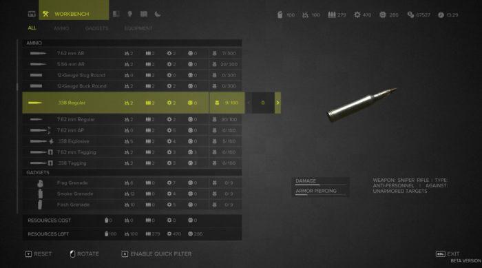 Sniper Ghost Warrior 3 Crafting
