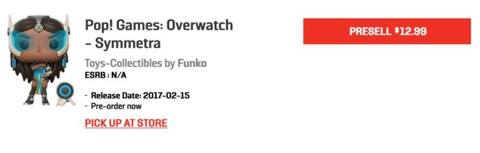 overwatch, funko pop, wave 2, release date, EB games, pre-order