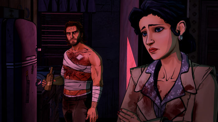 The Wolf Among Us Bigby and Snow