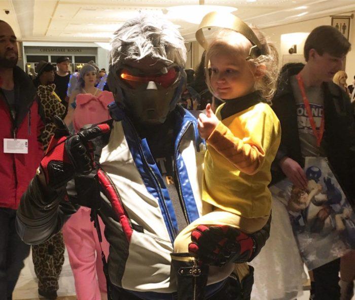 baby mercy cosplay