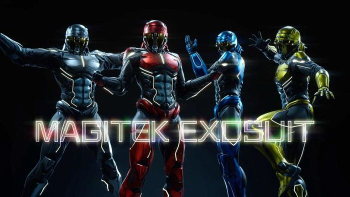 Final Fantasy XV, Power rangers, exosuits, dlc, square enix, rpg
