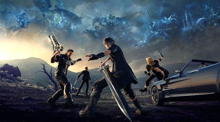 'Final Fantasy XV' Character Swap Feature In Action