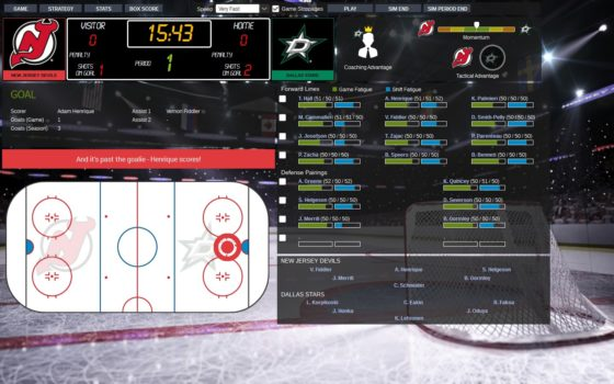Franchise Hockey Manager Watch Game