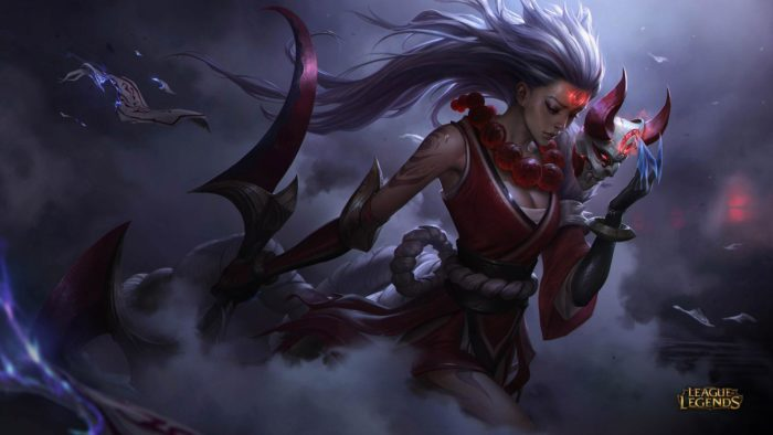 League of Legends Blood Moon Diana