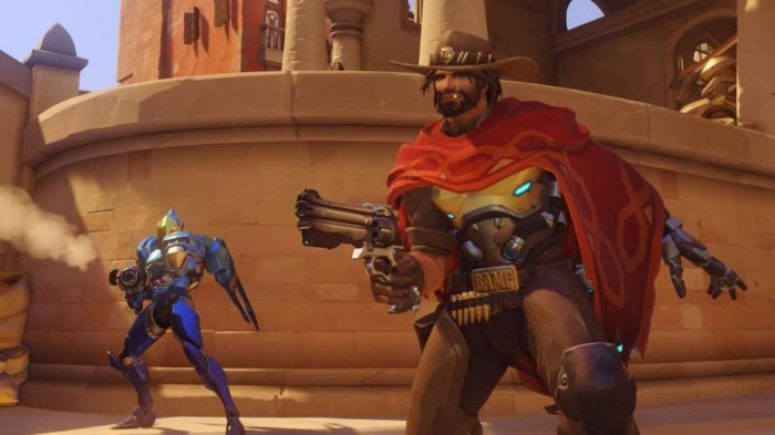 Overwatch, mccree, pharah, high noon, boost, combo