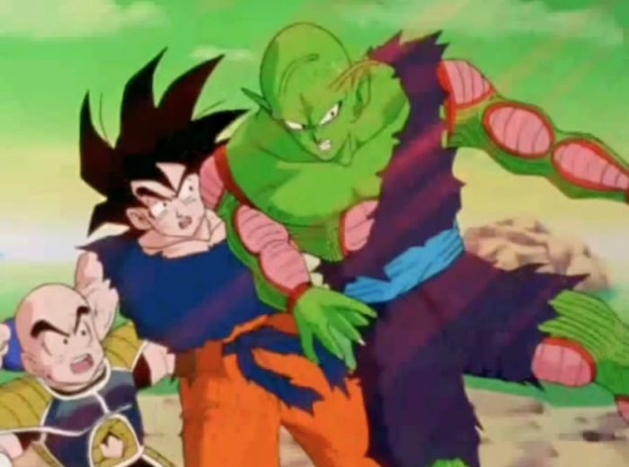 piccolo saves Goku