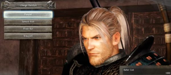Nioh: All Haircuts and Beards and What They Look Like