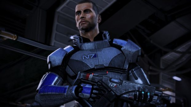 The facial model for the default male Shepard is named...