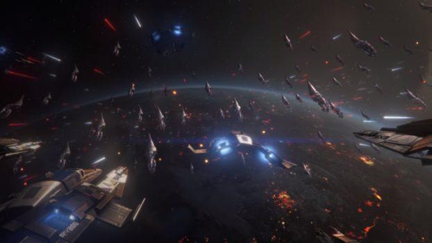 Leading a Massive Armada Against the Reaper Invasion