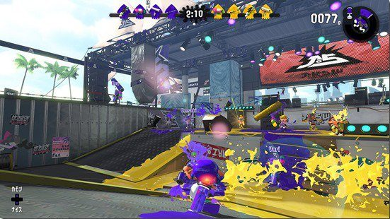 splatoon 2, screenshot