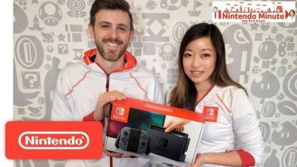 Nintendo Switch unboxing