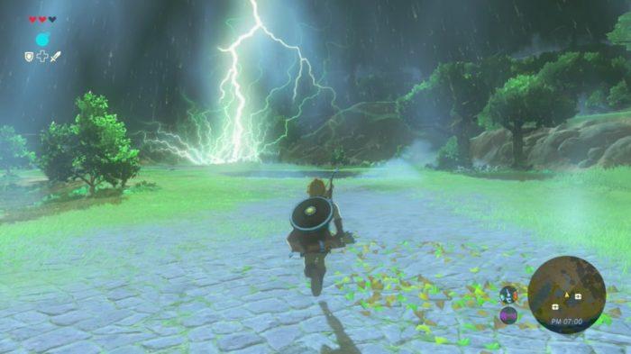 BotW lightning