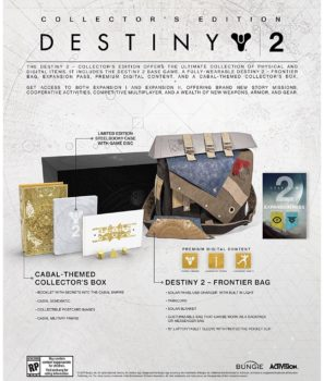 destiny 2, collector's edition