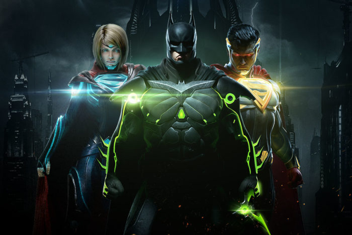 Injustice 2, video game, may 2017, releases, voice actors, voice cast, characters
