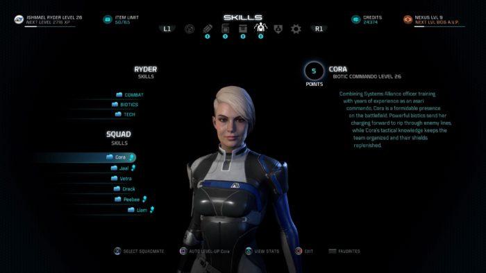 Cora Mass Effect™: Andromeda_20170319143313