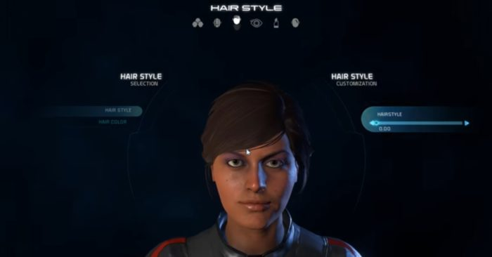 Mass Effect Andromeda Female Hairstyle 0
