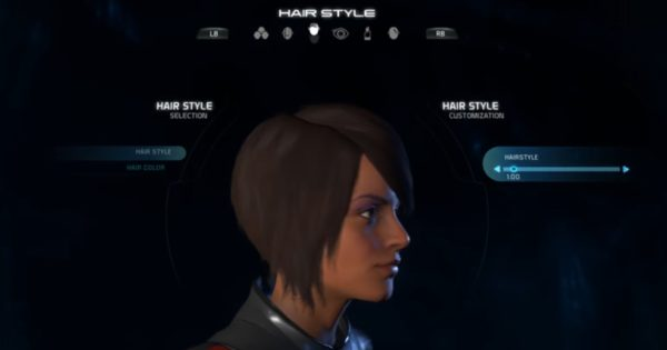 Mass Effect Andromeda Female Hairstyle 01